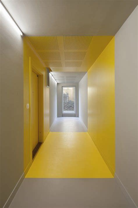 yellow interior 25 best ideas about elevator lobby on