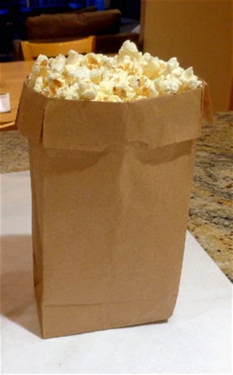 Popcorn In Brown Paper Bag - one bite brown bag popcorn and the academy awards