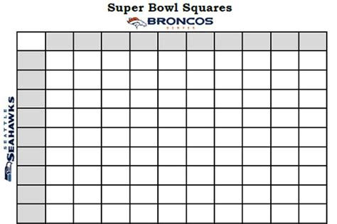 printable superbowl squares template bowl squares 2014 template and more