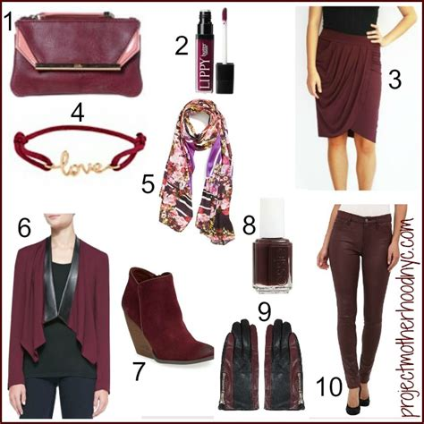 10 Ways To Add Green To Your Wardrobe by 10 Ways To Add Marsala To Your Wardrobe In 2015 Project