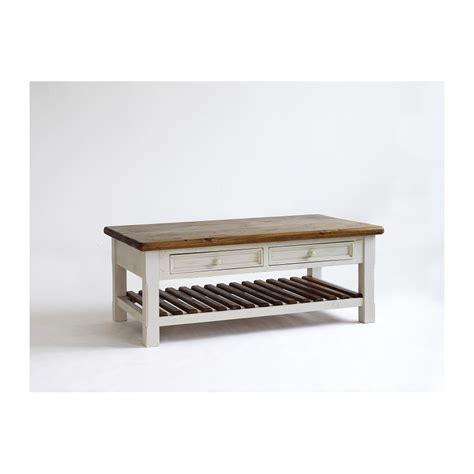 madie solid wood coffee table home furniture