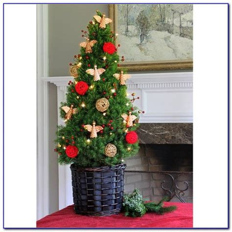 live pre lit tabletop christmas tree tabletop home