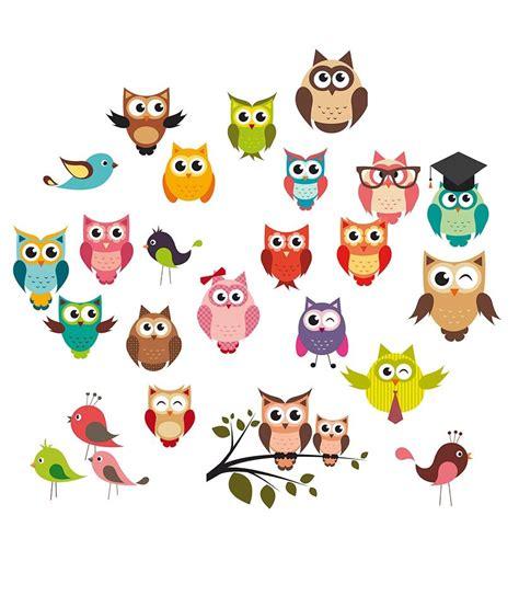Deko Sticker Anbringen by Eurographics Wandsticker 187 Owls 171 Kaufen Otto