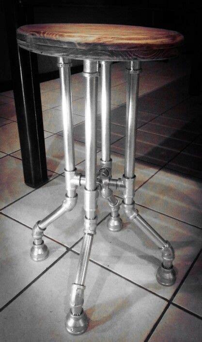 Galvanized Pipe Bar Stools galvanized pipe bar stool yard m 246 bel aus