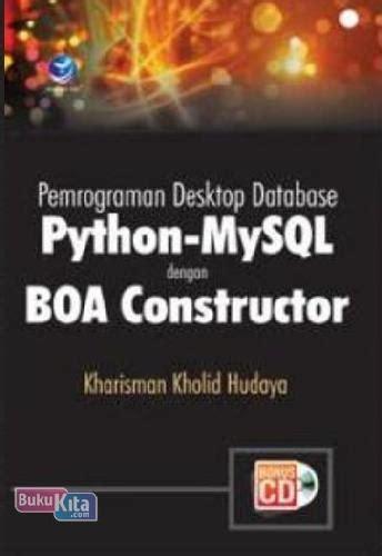 bukukita pemrograman desktop database python mysql