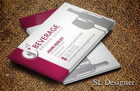 beverage company business card template wine business card image collections business card template