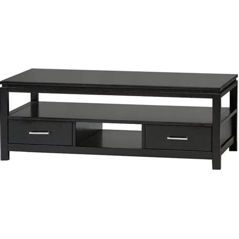 contemporary coffee table in black 84027blk 01 kd u