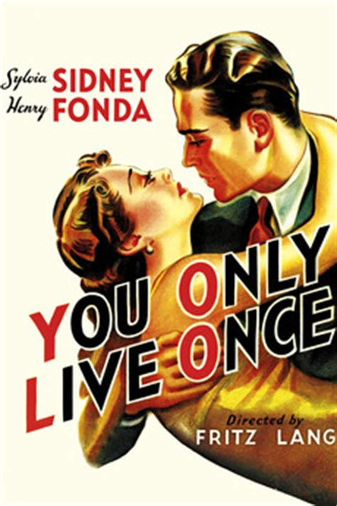 Pdf You Only Live Cast by You Only Live Once 1937 Directed By Fritz Lang