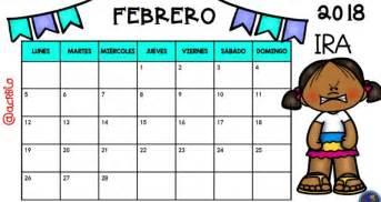 Calendario Mensual 2018 Calendario 2018 Para Imprimir Anual Mensual Escolar