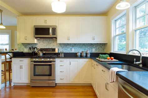 Cape Cod Beach House Remodel Beach Style Kitchen Cape Cod House Kitchen Plans