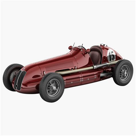 old maserati race car 3d model maserati 4cl vintage racing car