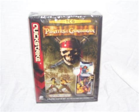 Card Tcg 1999 2 Player Starter Set Us Version of the caribbean quickstrike dead s chest trading card starter set new