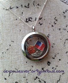 Origami Owl Firefighter Locket - fireman on guardian towers