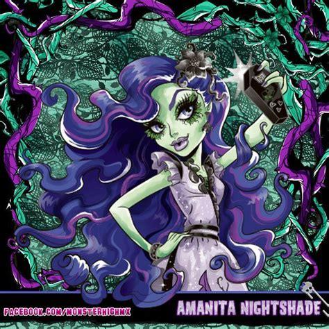 monster high coloring pages amanita nightshade amanita nightshade cartoon amino