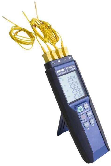 Temperature Data Logger Industrial 10 Channel 4 channel temperature data logger thermo recorder dtm 319a tecpel co ltd