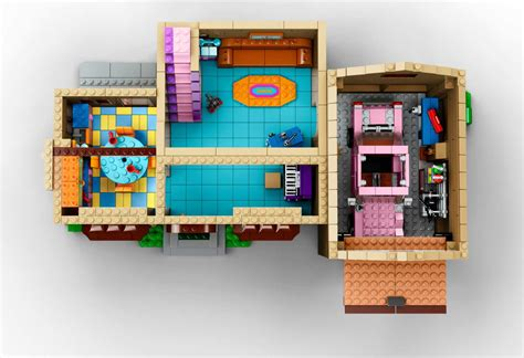 floor plan of the simpsons house shut up and take my money lego simpsons set