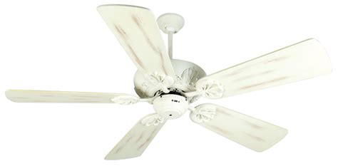vintage white ceiling fan craftmade k10911 cordova antique white indoor 54 quot home