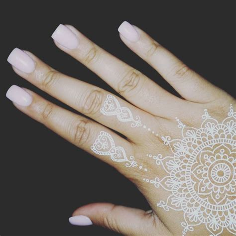 henna tattoos white henna white makedes