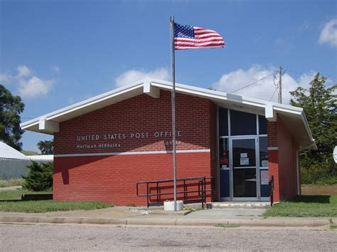 Whitman Post Office by Whitman Nebraska Photo By Courthouselover Small Town