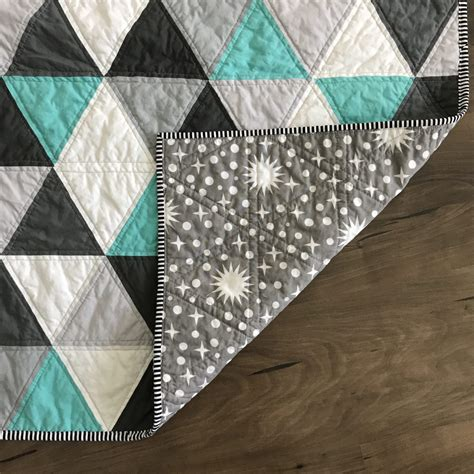 60 degree triangle pattern needed quilt equilateral 60 degree triangle baby quilt heritage threads