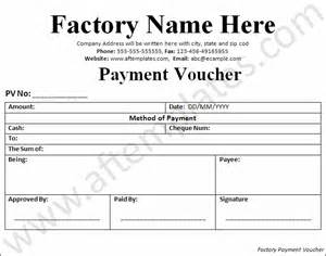 payment voucher template all free templates excel