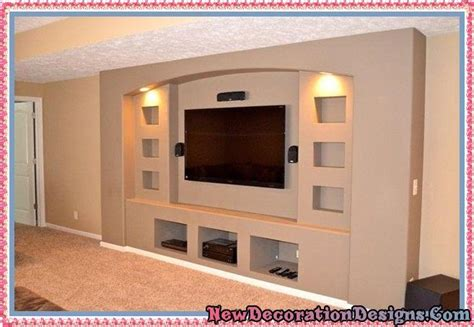 home design idea center unbelievable gypsum tv units designs and drywall
