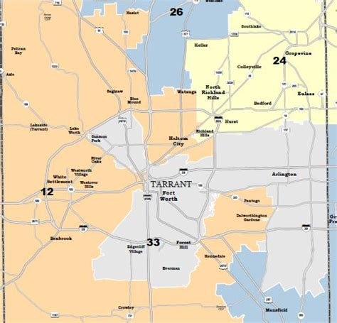 map of tarrant county texas federal judge releases proposed congressional district map for texas designed to increase