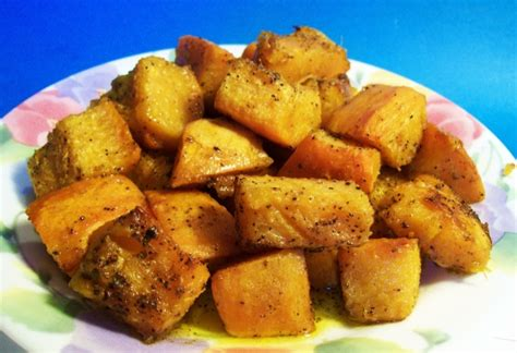 pumpkin foods spicy roast pumpkin recipe low cholesterol genius kitchen