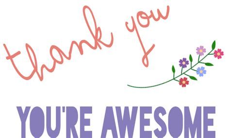 you re awesome card templates free printable thank you card sew crafty goodness
