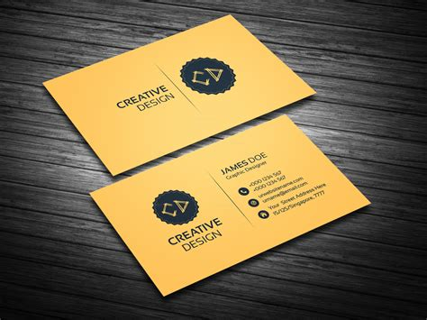 Golden Business Card Template by Golden Business Card Template Bundle 000114 Template Catalog