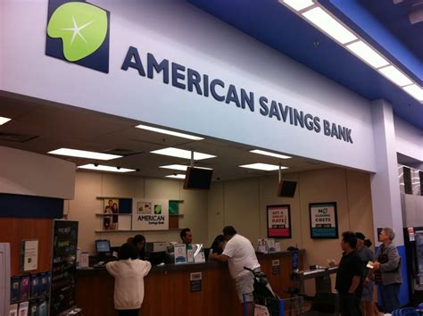 american savings bank american savings bank honolulu walmart branch 10