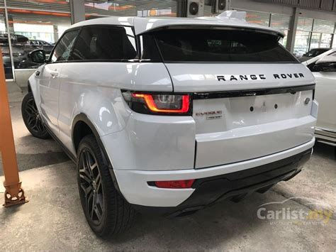 land rover range rover evoque   dynamic    kuala lumpur automatic suv white