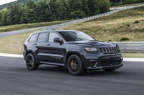 Jeep Grand Cherokee Trackhawk 2018 Review Carsguide