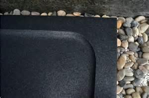 receveur de en mercurion shadow granit noir