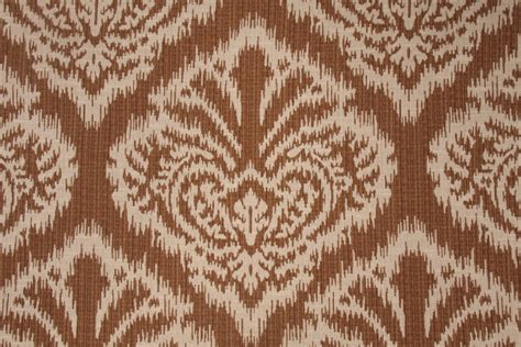 upholstery fabric ikat robert allen ikat damask tapestry upholstery fabric in bronze