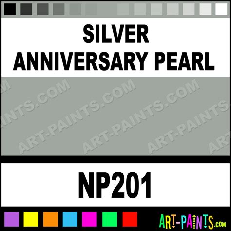 silver anniversary pearl pearlescent airbrush spray paints np201 silver anniversary pearl