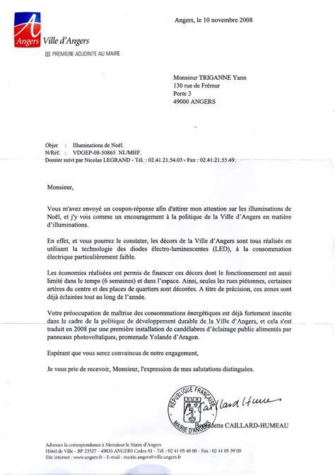 Exemple De Lettre Demande De Logement Au Maire Modele Lettre A Un Maire Document