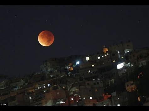 eclipse de luna en mes de septiembre del 2016 las mejores im 193 genes del eclipse total lunar hoy 28 de
