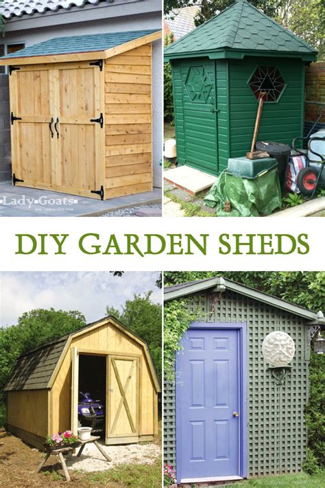 Easy Sheds Garden Sheds by 10 Easy Diy Garden Sheds You Can Build Yourself
