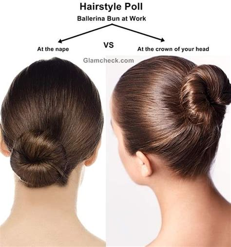 hairstyles for short hair at work ballerina bun hairstyle at work office bun hairstyles