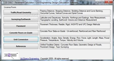 pavement design engineer job description pavement calculator pavement design calculator software
