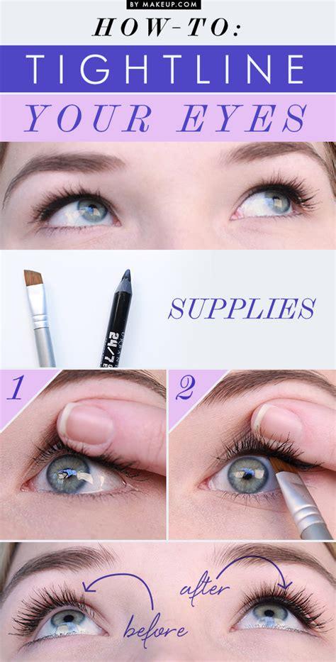 Tutorial Eyeliner Tightline | how to tightline your eyes