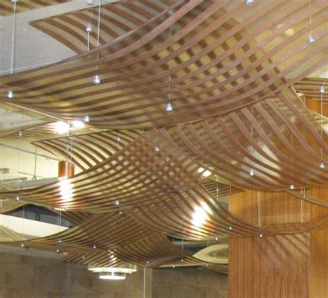 wood grid ceiling 24 best images about ceiling treatments on