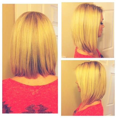 long a line bob hairstyles long bob i just got done a line cut hair pinterest