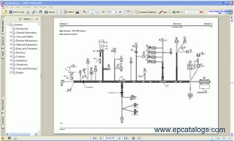 jcb wiring diagram motor wiring jcb compact service wiring schematics 79