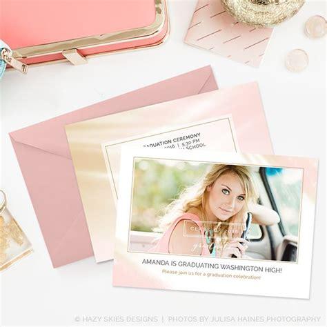 Minimalistic Graduation Invitation Card Template by 73 Best Senior Marketing Templates Graduation
