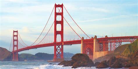 Orange Dining Rooms by Golden Gate Bridge In San Francisco Hiking Biking