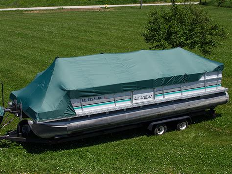 pontoon cover support diy diy pontoon boat cover diy do it your self