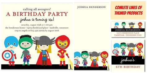 luxury avengers birthday invitations templates free and creative