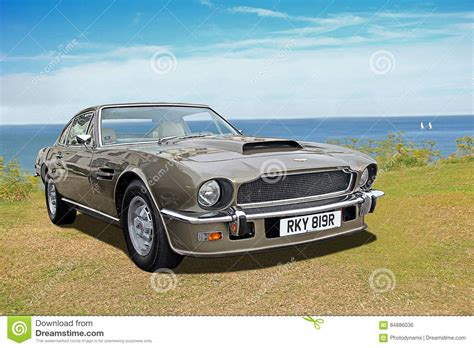 vintage aston martin vintage aston martin 1977 editorial photo image 84886036